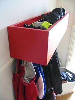 Multi purpose coat rack/storage box in Cotham, Bristol