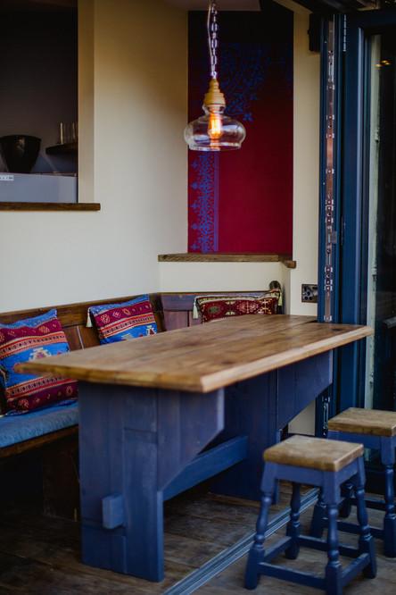 Biblos cafe table, Bristol