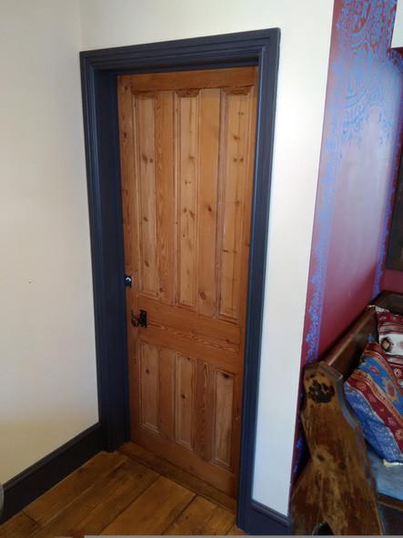 Reclaimed door fitted in Biblos, St, Werburghs
