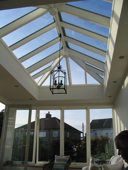 Orangery roof light, Bristol