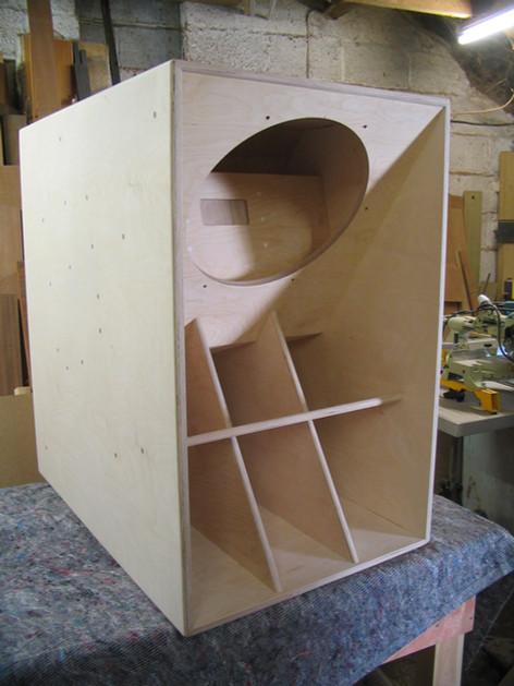 Hand made sound system speaker, Midsomer Norton