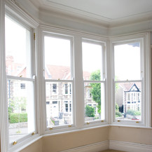 Replacement traditional sash windows, Bath