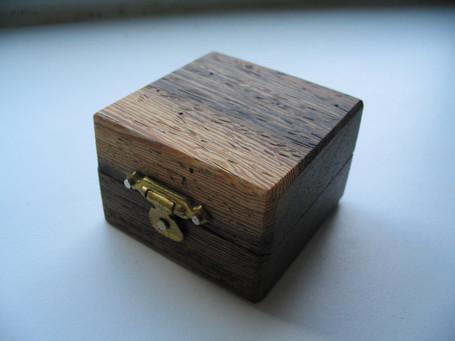 Handmade ring box, Welton, Midsomer Norton