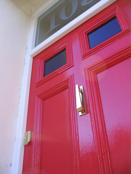 Front door restoration, Montpelier, Bristol