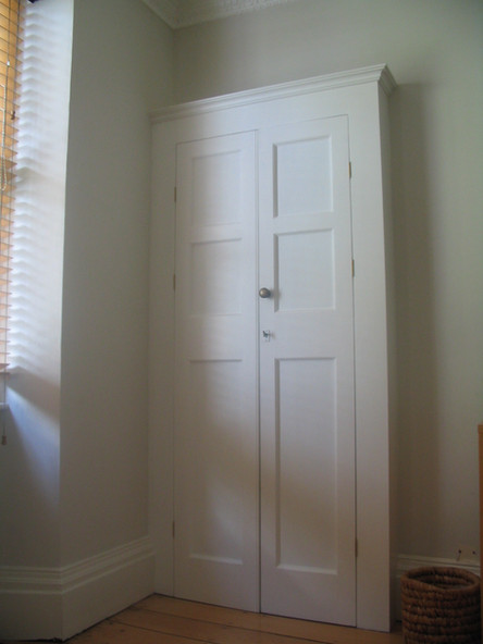 Period fitted wardrobe, Frome