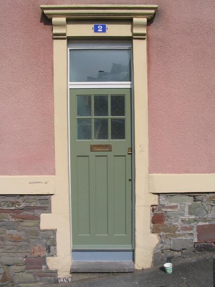Replacement period door, Totterdown, Bristol
