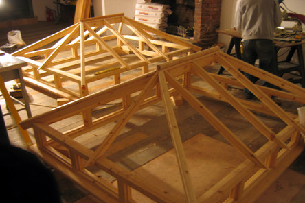 Two x handmade rooflights for pub in Clifton, Bristol
