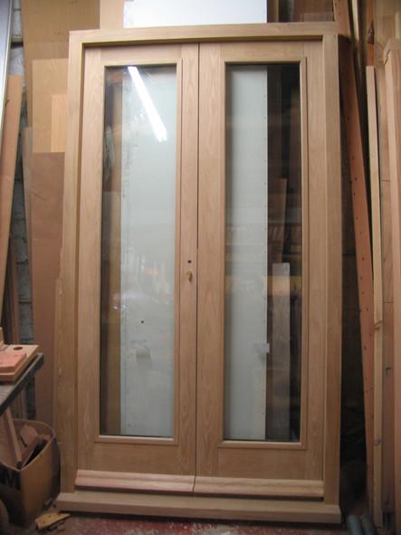 Hardwood patio doors, Midsomer Norton