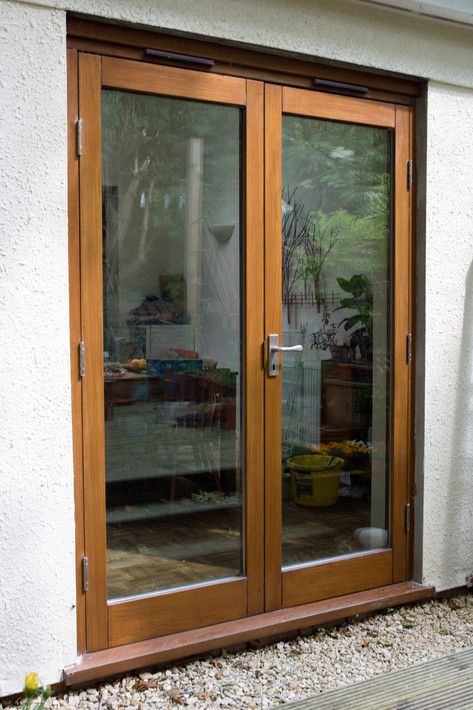 Double glazed hardwood patio doors, St. Werburghs, Bristol