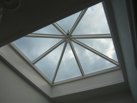 New roof light, Bath
