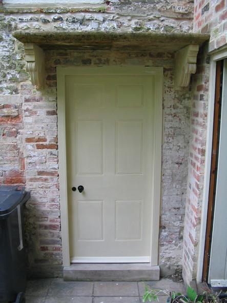 Handmade hardwood cottage door, near Bath