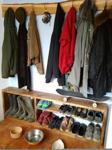 Coat rack and boot storage, Welton, Midsomer Norton BA3