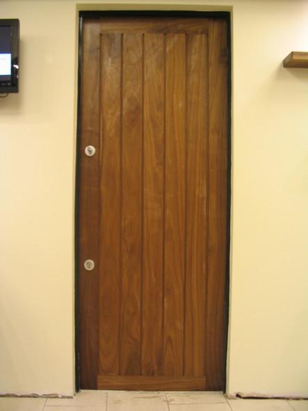 Hardwood external cottage door, Chewton Mendip