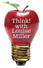 Think with Louise Miller logo