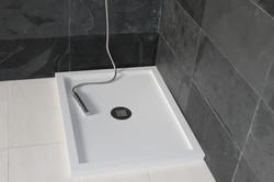 Plato de ducha blanco