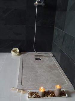 Plato de ducha marmol natural