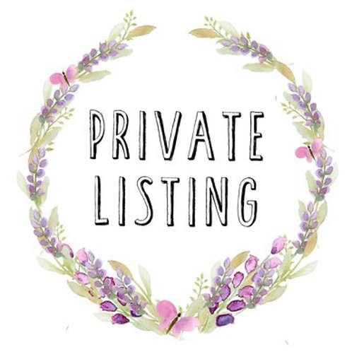 Private Listing for Lauren B.