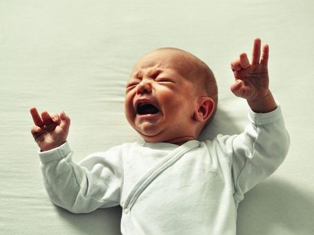 Les pleurs de bébé...