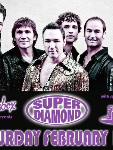 Showbox with Super Diamond Poster
