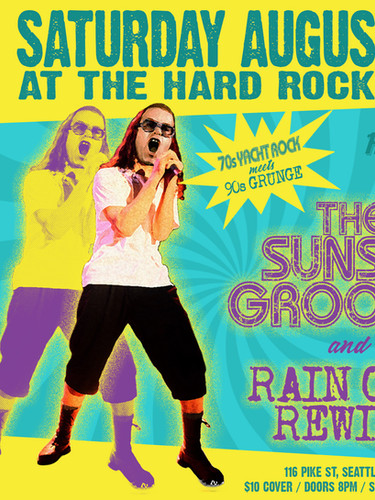 August 11th Hard Rock Poster