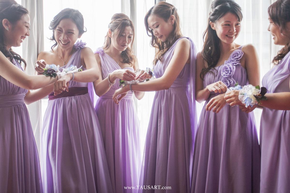 BRIDESMAID GET READY, Wedding photography