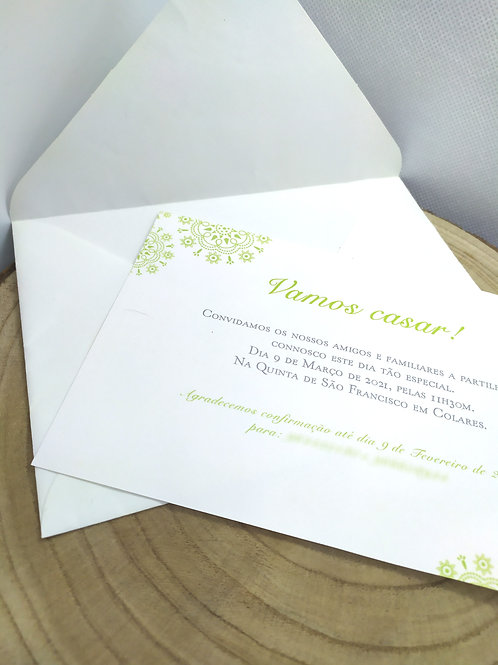 Convite Mandala