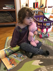 Quiet moments with Care Bear
