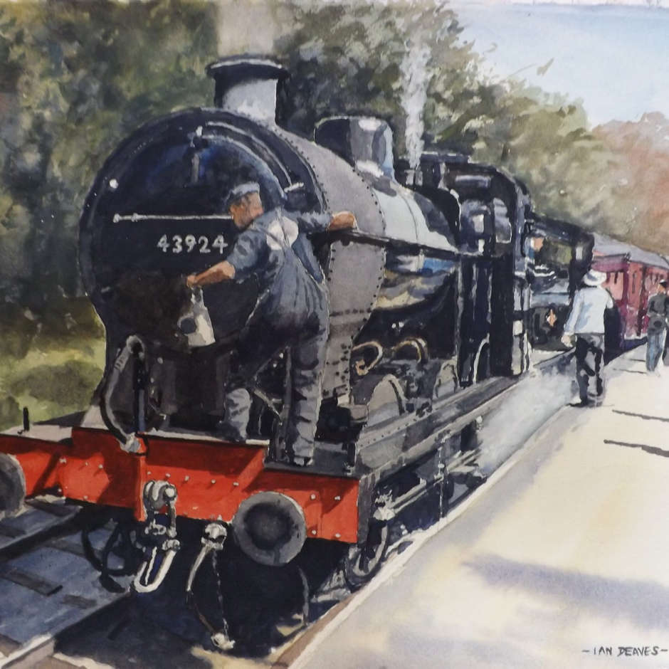 Keighley and Worth valley railway, Ian Deaves