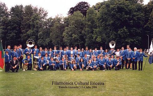 Filarmónica Cultural Ericeira - Rastede Alemanha (2 a 4 Julho 1999)