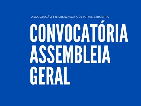 Assembleia Geral | Convocatória