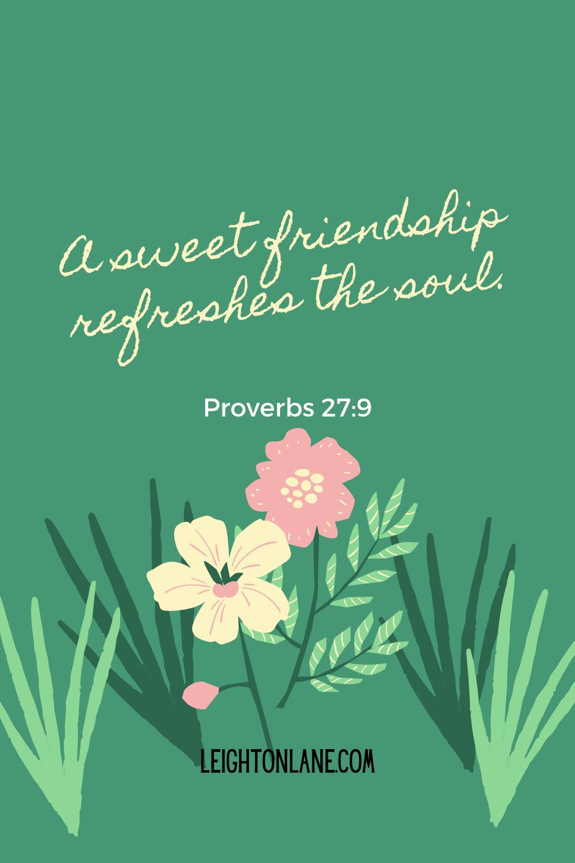 proverbs 27:9