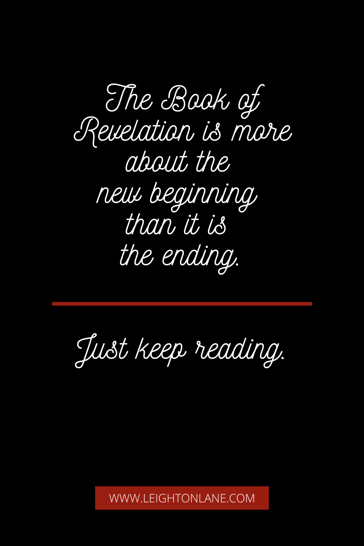book of revelation new beginning