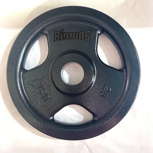 Pre-Order - Biggins 2.0 - PAIR - 25lbs - Machined Cast Iron Training Plate