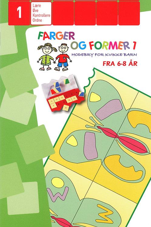 Farger og former 1 ( 6 - 8 år )
