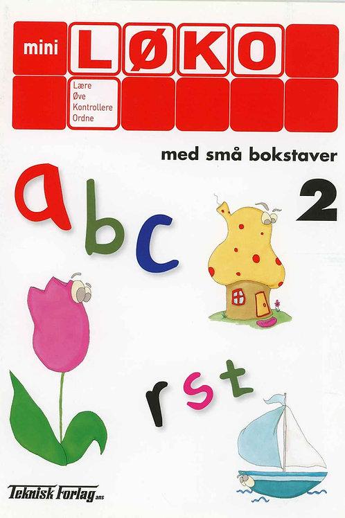 Abc med små bokstaver 2 (1 - 2 Trinn)