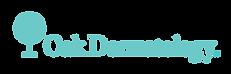 Oak Dermatology logo, oakderm.com logo