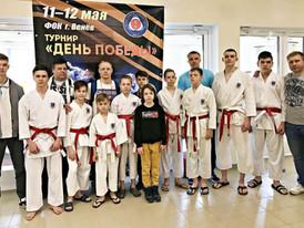 Наши спортсмены на турнире «День Победы»