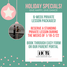 Private Lesson Packages