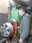 Правка и ремонт литых дисков, аргонная сварка
