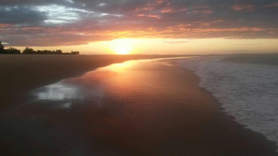 Sunset in Barra