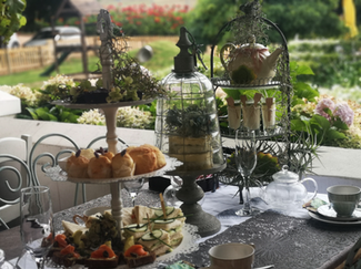 High tea Botanical