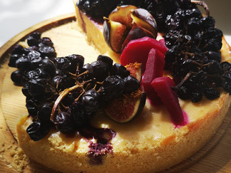 Fig Baked cheesecake