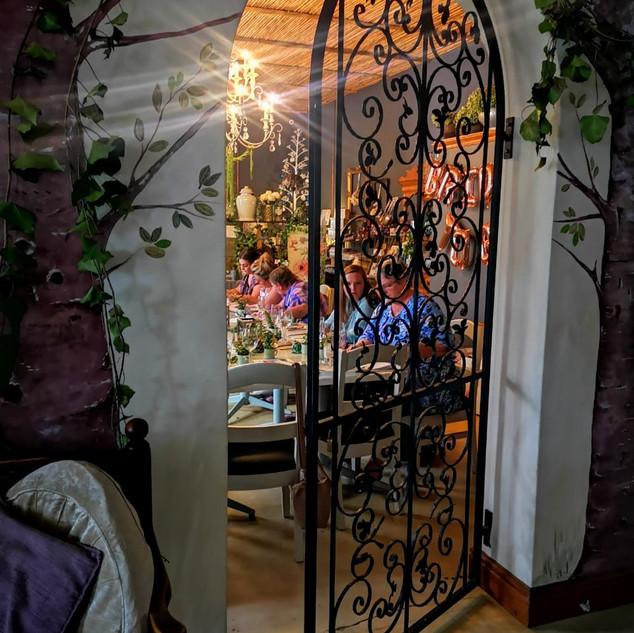 Venue room gate