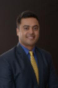 Professional Pic with tie Rupesh Mishra.