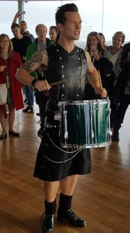 Drumming in Dublin