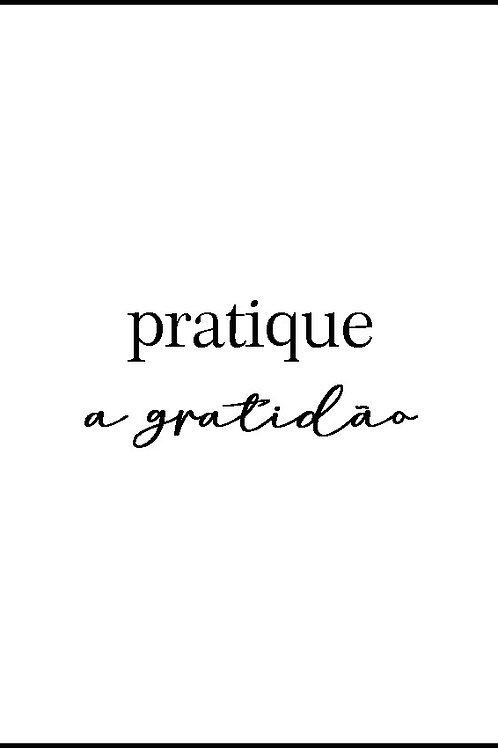 poster gratidão