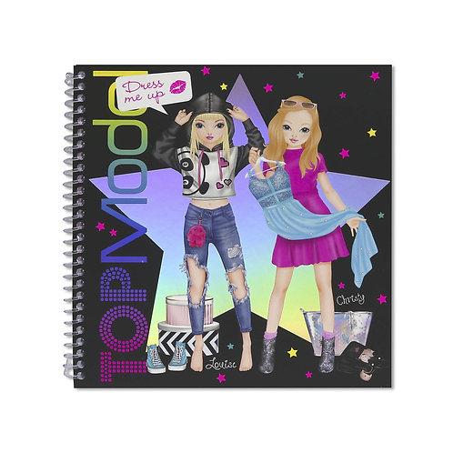 Top Model - Dress Me Up Sticker Book