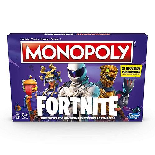 MONOPOLY Fortnite Nouvelle Edition Version Française
