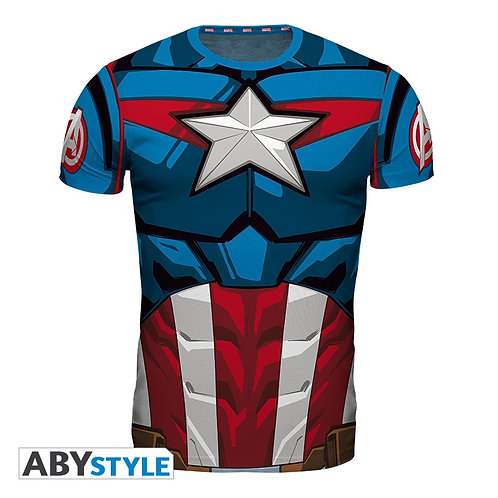 MARVEL T-shirt Costume Captain America