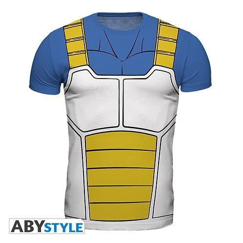 DRAGON BALL Z T-shirt Armure Vegeta